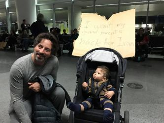 Sergey Brin Protest Against Immigration Ban Full