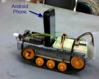 استفاده از سیستم عامل Android در ربات ها