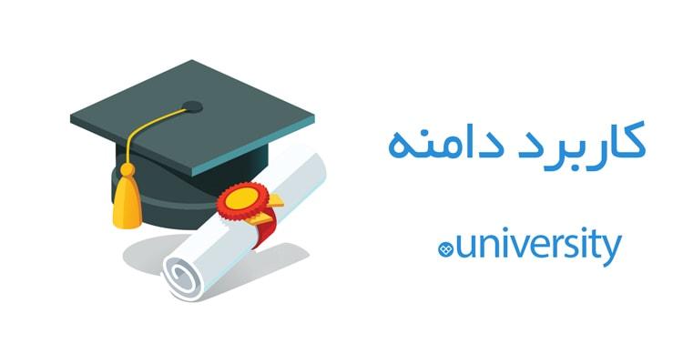 کاربرد دامنه university