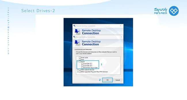 انتقال فایل به drive وی پی اس