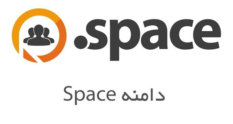 لوگو دامنه space