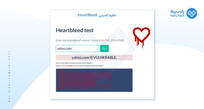 حفره امنیتی HeartBleed