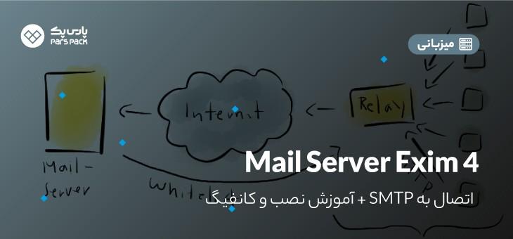 آموزش نصب mail-srver exim4
