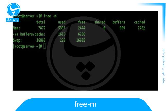 فضای آزاد در سرور لینوکس