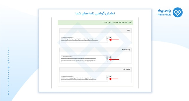 صدور گواهینامه اس اس ال رایگان