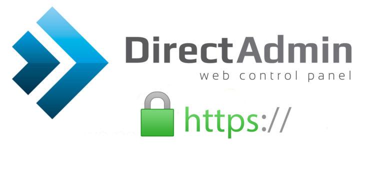 آموزش ایجاد کد CSR و نصب گواهی SSL در کنترل پنل DirectAdmin