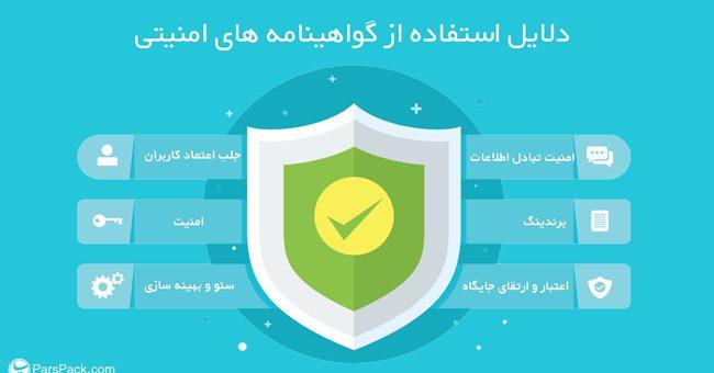 گواهینامه امنیتی SSL
