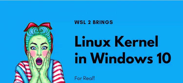 خبر شگفت انگیز برای طرفداران لینوکس،ویندوز ۱۰ با kernel واقعی لینوکس