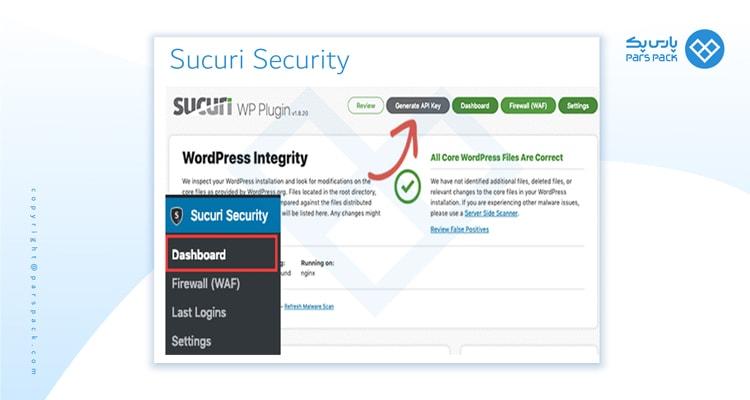 افزونه Sucuri-Security